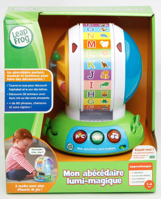 Spin & Sing Alphabet Zoo™ - French Edition