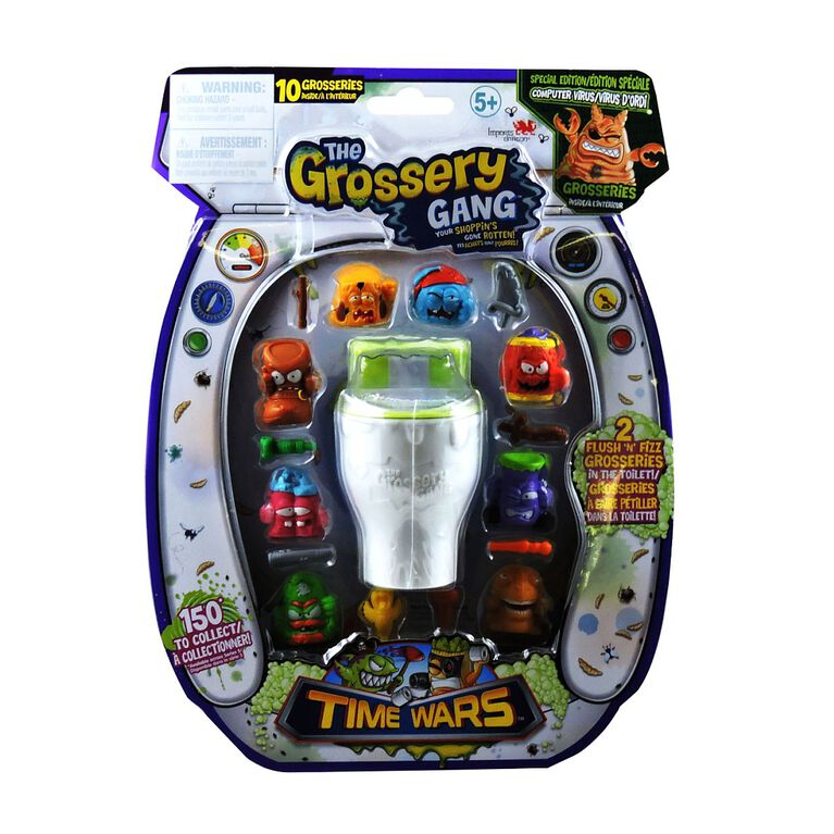 The Grossery Gang Time Wars Large Pack