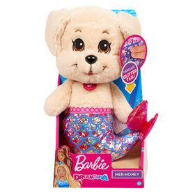 Barbie Dreamtopia Mer Golden Puppy Plush