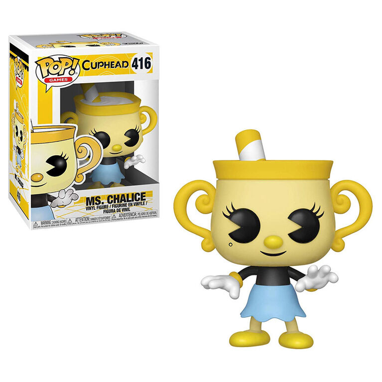 Funko POP! Games: Cuphead - Ms. Chalice Vinyl Figure