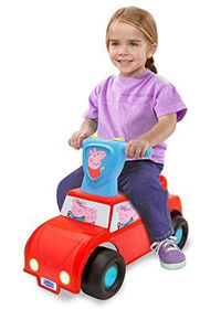 Porteur Push N Scoot Peppa Pig - Édition anglaise