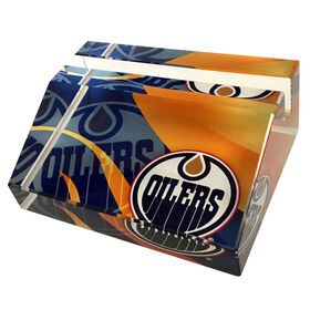 NHL Business Card Stand Edmonton Oilers