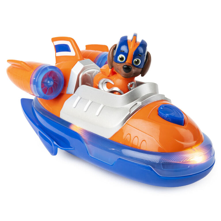 Paw Patrol Mighty Pups Super Paws Zuma S Deluxe Vehicle With