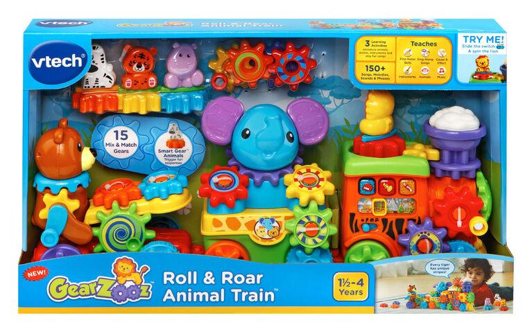 GearZooz™ Roll & Roar Animal Train™ - English Edition