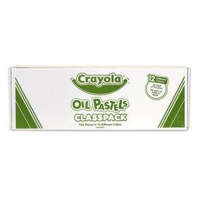 Pastels à l'huile Classpack de Crayola, paq de 336 (12 couleurs)