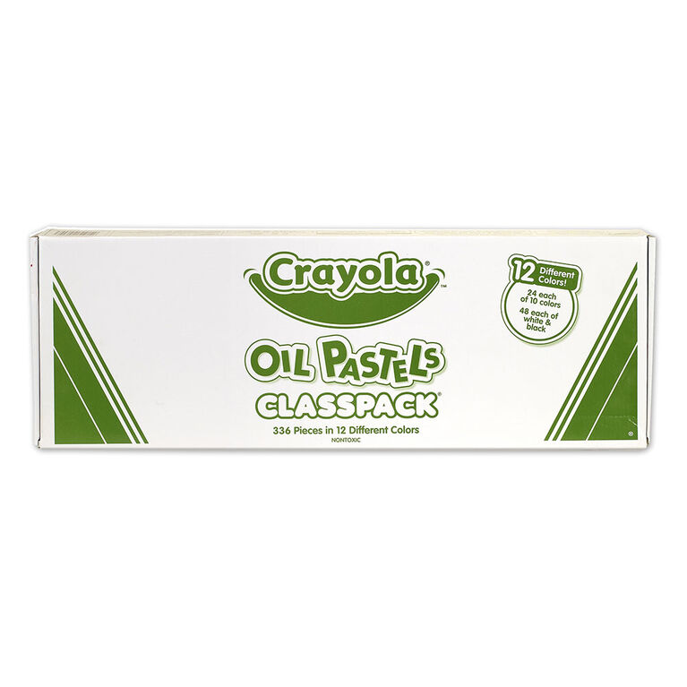 Crayola - Oil Pastels Classpack, Assorted, 336/Pack