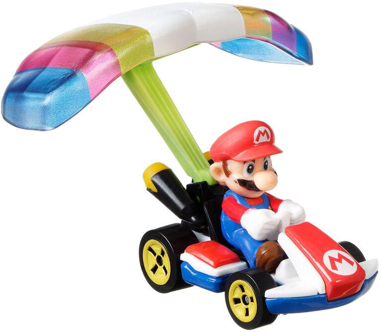Hot Wheels Mario Kart Character Cars with Glider