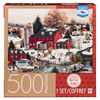 Artist Mary Ann Vessey - 500-Piece Adult Jigsaw Puzzle - Maple Sugar Time