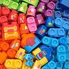 LeapFrog LeapBuilders Blue's Clues & You! 81-Piece Jumbo Blocks Box - Édition anglaise - Notre exclusivité