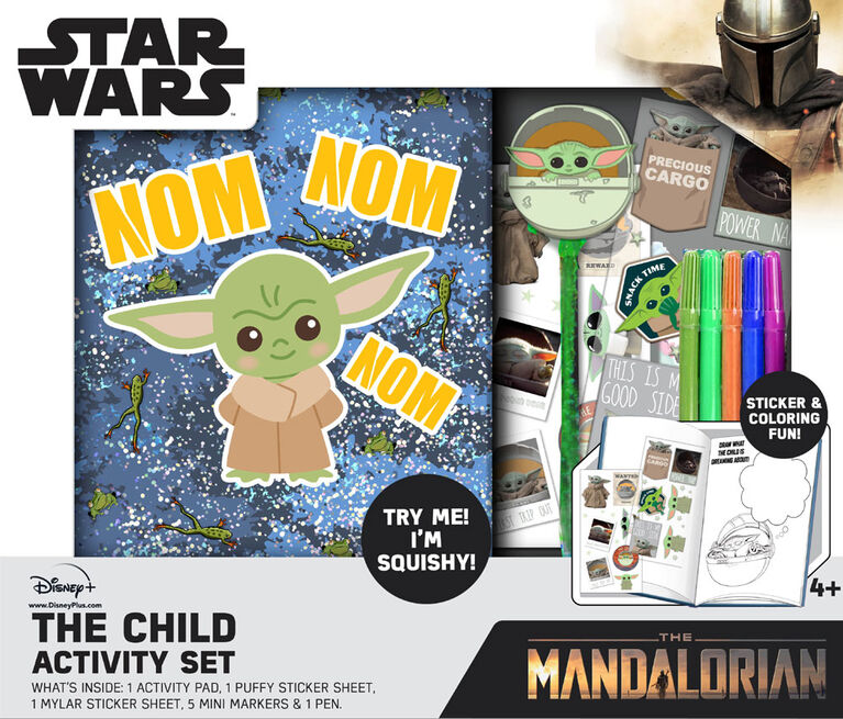 Mandalorian The Child Activity Set - English Edition