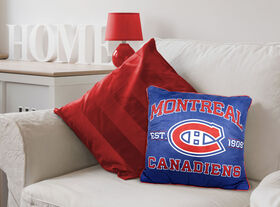 NHL Team Cushion - Montreal Canadiens