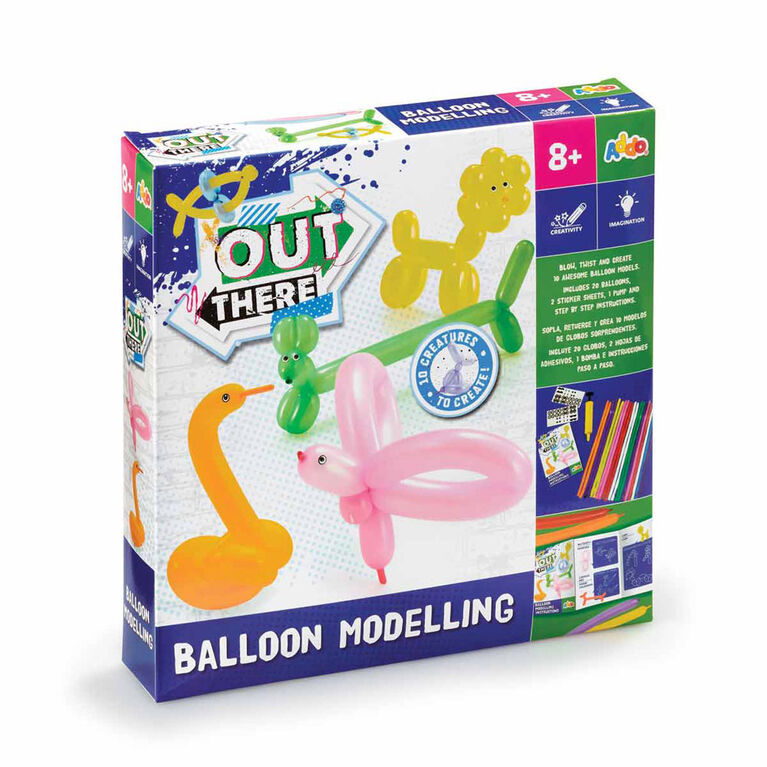 Out There - Trousse Balloon Modelling Set - Notre exclusivité