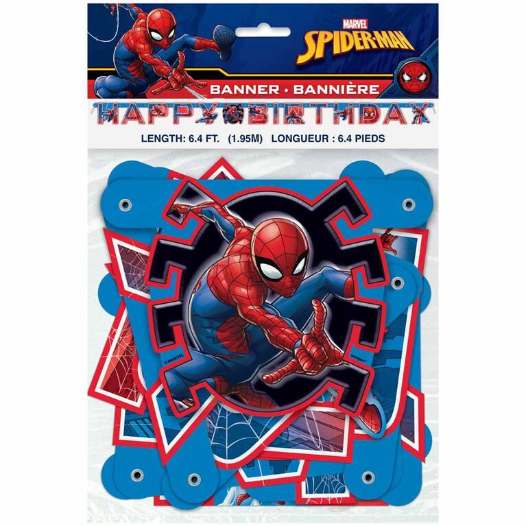 Spider-Man Large Jointed Banner - English Edition