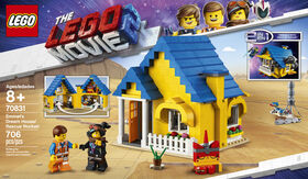La maison de rêve/fusée de sauvetage d'Emmet! LEGO The LEGO Movie 2 70831