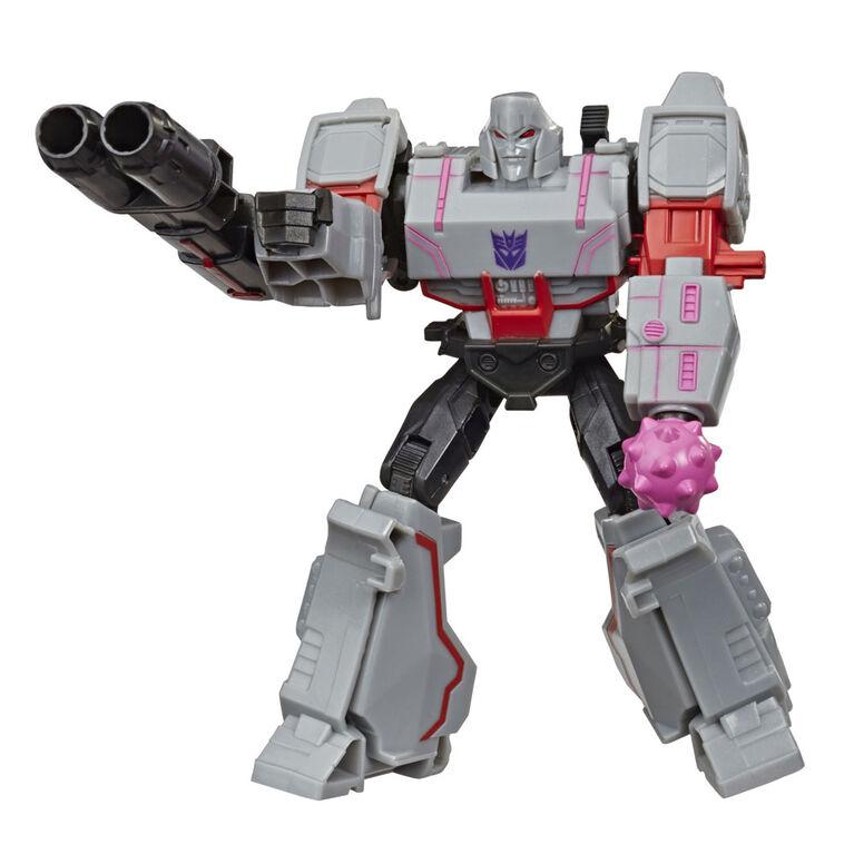 Transformers Bumblebee Cyberverse Adventures Action Attackers Warrior Class Megatron Action Figure