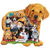 Puppy Pals Shaped Puzzle