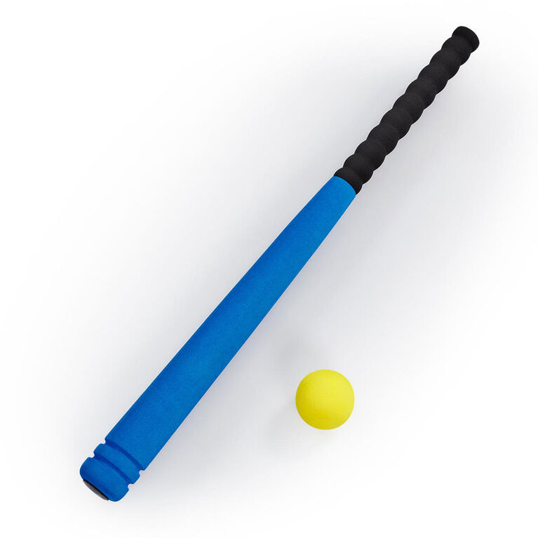 "Out and About 24"" Baseball Bat and Ball Set Blue"