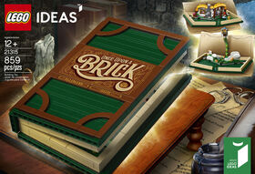 LEGO Ideas Livre pop-up 21315