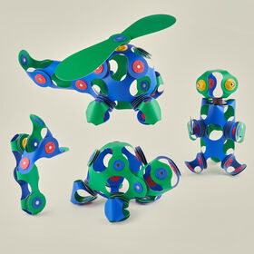 Clixo Crew Pack - Blue/Green - English Edition