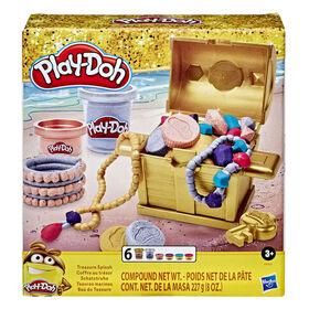 Play-Doh Collection dorée, Coffre au trésor  - Notre exclusivité