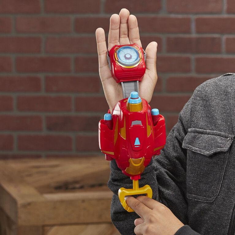 NERF Power Moves Marvel Avengers Iron Man Repulsor Blast Gauntlet