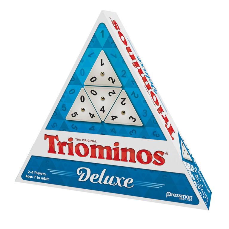Pressman: Tri-Ominos Deluxe Game - English Edition
