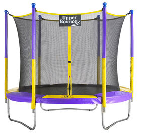 """Upper Bounce 9 FT. Trampoline & Enclosure Set equipped with the New """"EASY ASSEMBLE FEATURE"""""""
