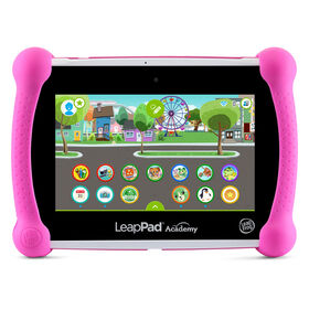 LeapFrog LeapPad Academy - Rose - Exclusif - Édition anglaise