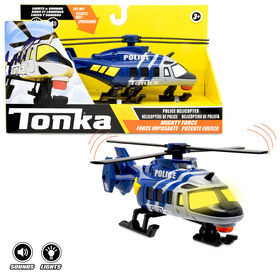 Tonka - Mighty Force L&S Police Copter