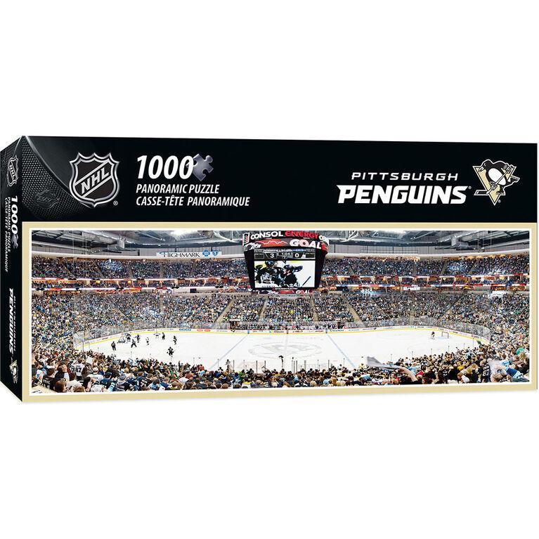 Pittsburgh Penguins 1000 Piece Stadium Panoramic Puzzle