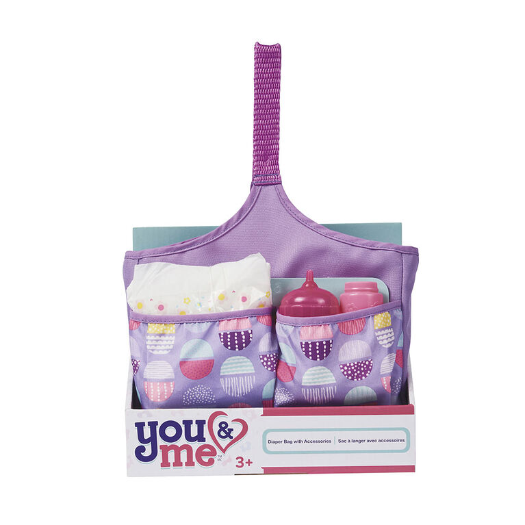 You & Me - Diaper Bag with Accessories