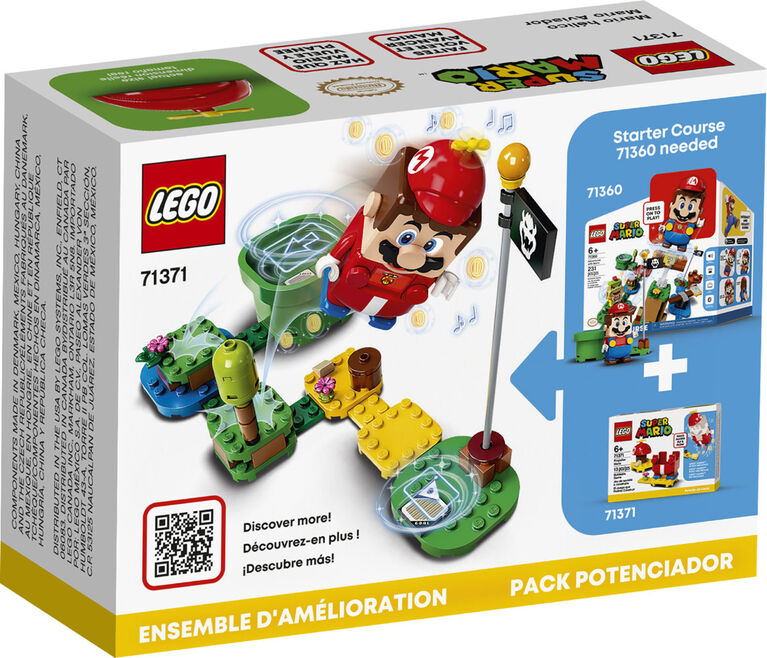 LEGO Super Mario Propeller Mario Power-Up Pack 71371
