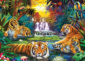Eurographics Tiger's Eden 500 Piece Puzzle