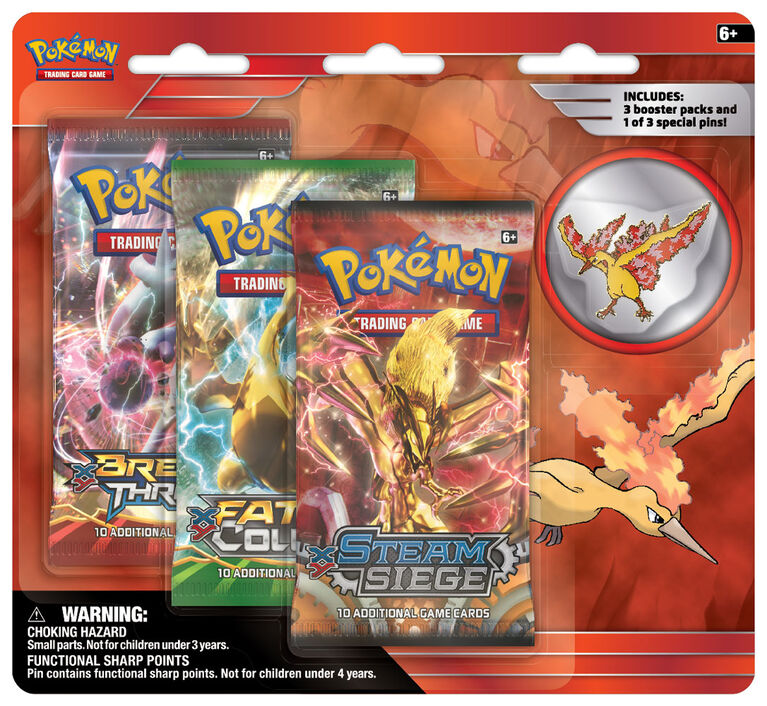Pokemon Collector'S Pin 3Pack