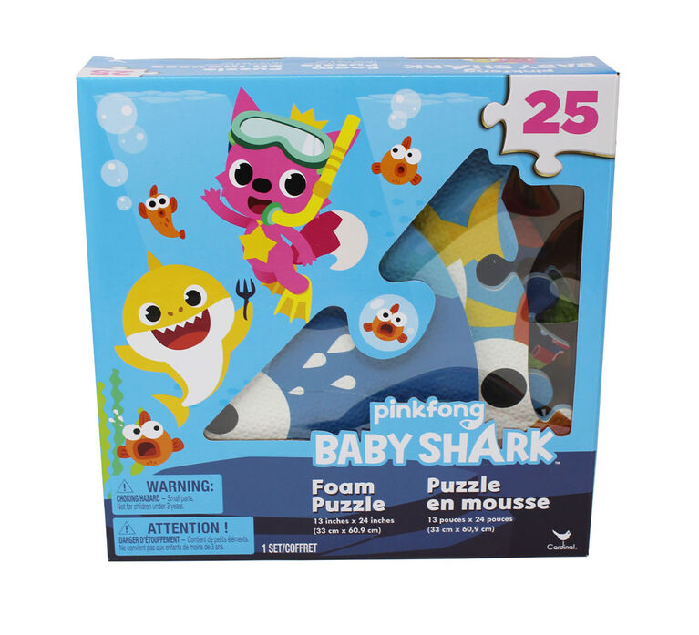 Pinkfong Baby Shark 25-Piece Foam Puzzle
