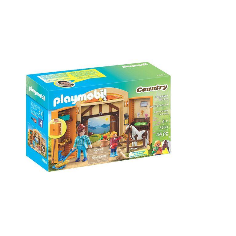 Playmobil - Coffret de l'Écurie (5660)