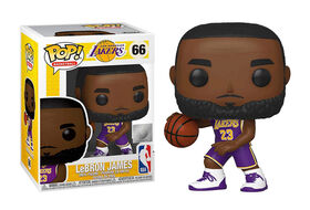 Figurine en Vinyle Lebron James par Funko POP! NBA Légendes