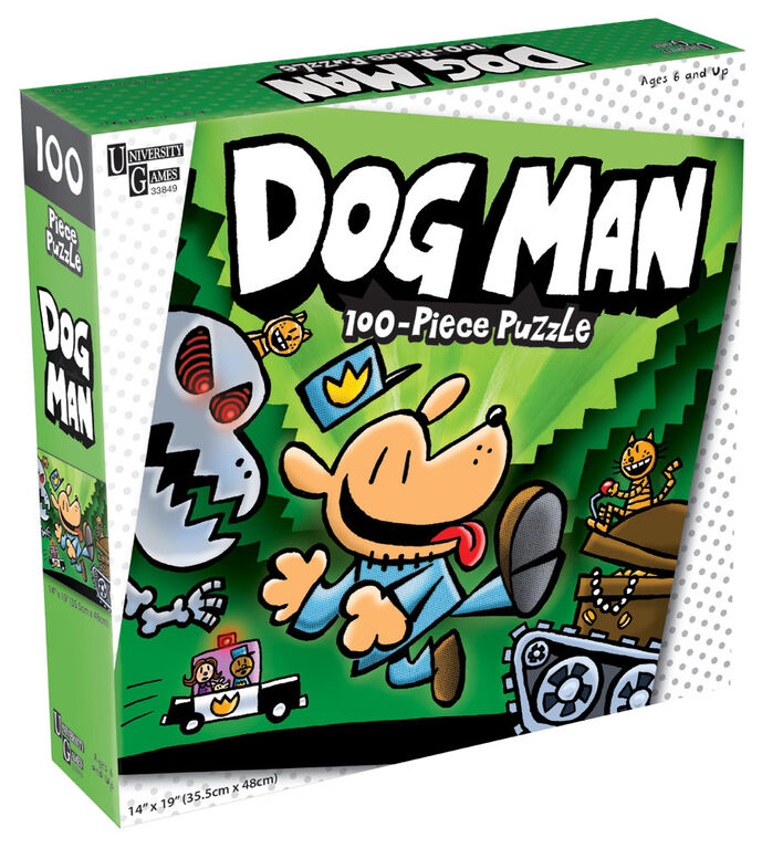 Dog Man Unleashed 100 Pieces - Édition anglaise