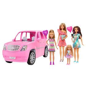 Barbie - Poupées et véhicule