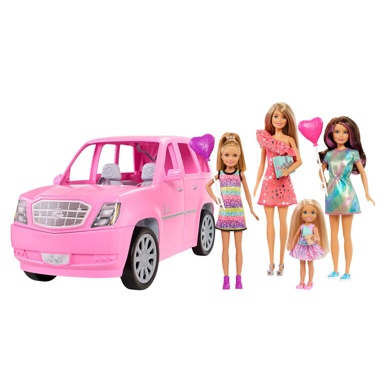Barbie Dolls and Vehicle