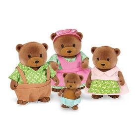 Healthnuggle Ours, Li'l Woodzeez, Ensemble de petites figurines d'ours