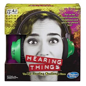 Hasbro Gaming - Hearing Things Game - English Edition