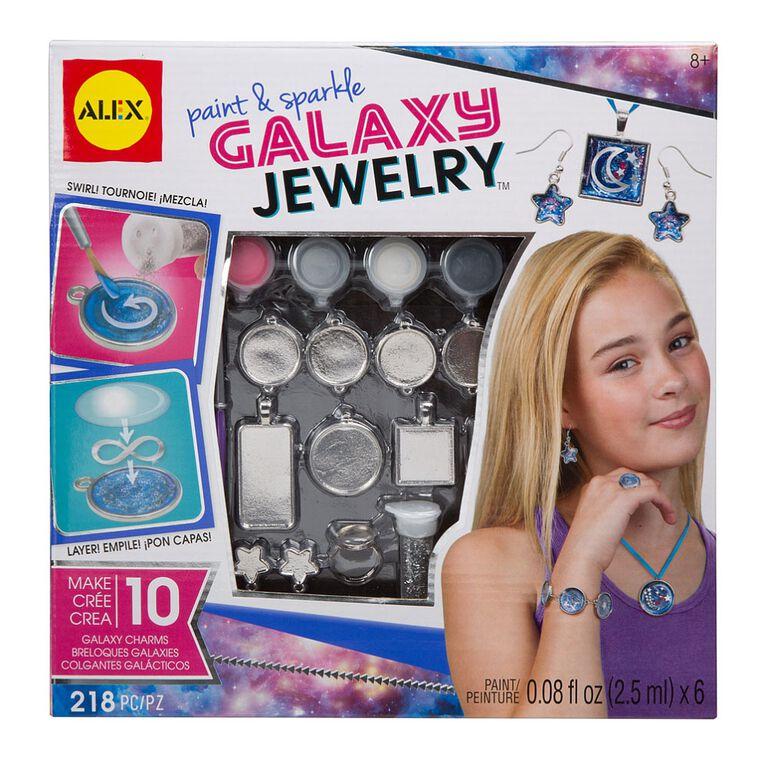 Wear & Paint Sparkle Galaxy Jewelry.