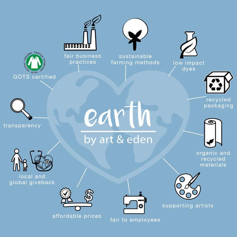 earth by art & eden Cleo 2-Piece Set- Newborn