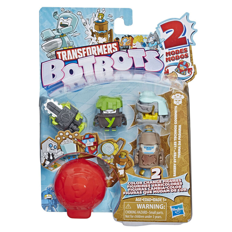 Transformers BotBots Bakery Bytes Mystery 5-Pack