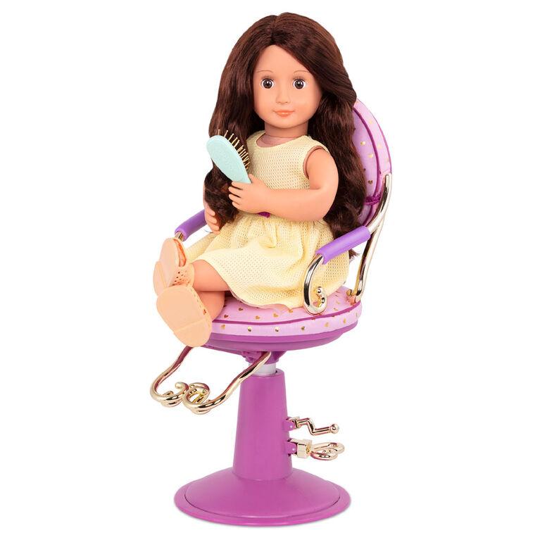 Sitting Pretty Salon Chair, Our Generation, Ensemble de coiffure pour poupées de 18po