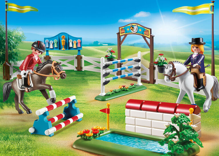Playmobil - Parcours d'obstacles