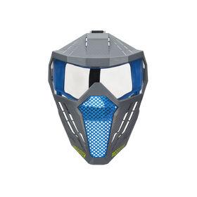 Nerf Hyper Face Mask - Breathable Design, Adjustable Head Strap - Blue Team Color