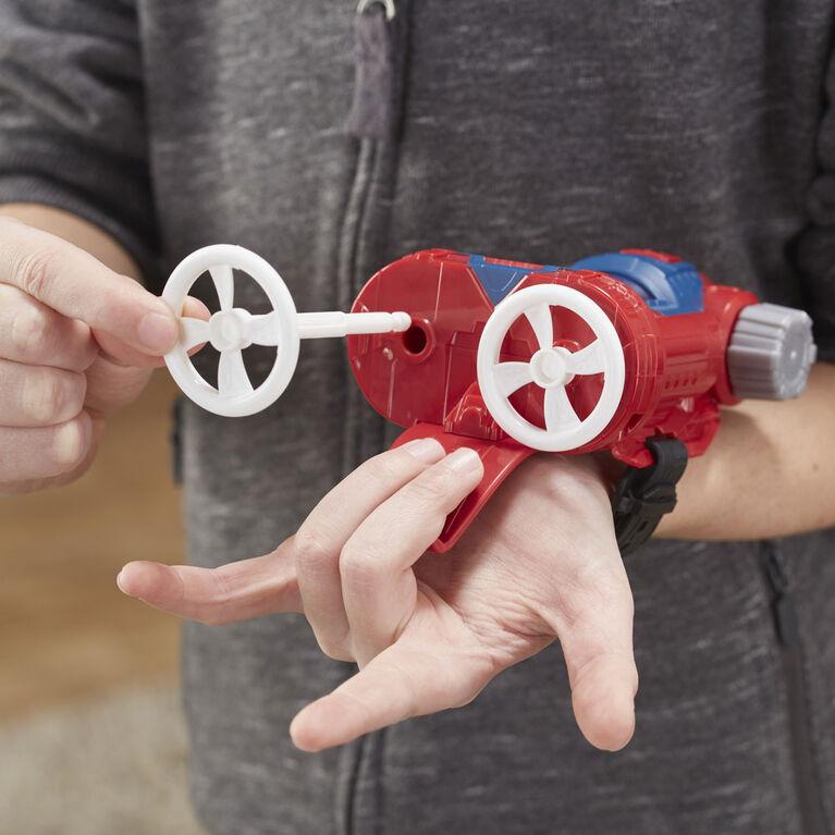 Spider-Man Web Shots Twist Strike Blaster Toy