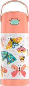 Thermos FUNtainer Bottle, Butterflies Pastel Delight, 355ml